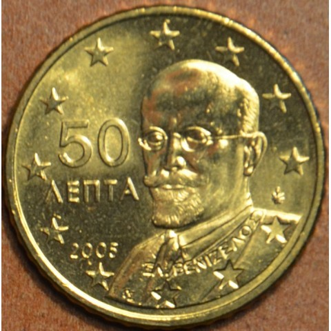 50 cent Grécko 2005 (UNC)