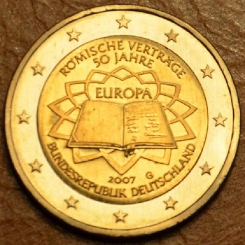 """2 Euro Nemecko """"G"""" 2007 - 50 rokov Rímskej zmluvy (UNC)"""