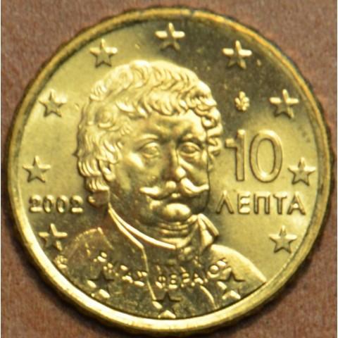 10 cent Grécko 2002 (UNC)