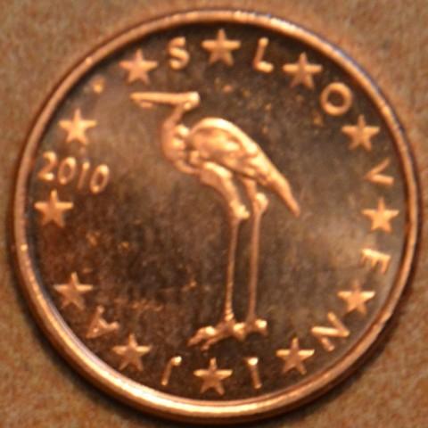 1 cent Slovinsko 2010 (UNC)