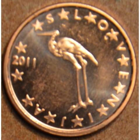 1 cent Slovinsko 2011 (UNC)