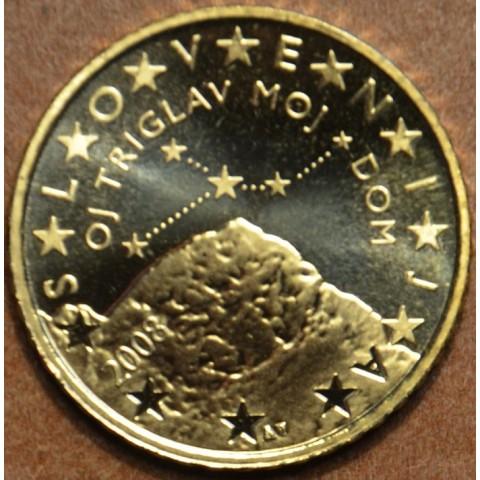 50 cent Slovinsko 2008 (UNC)