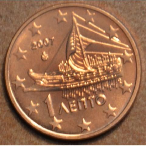 1 cent Grécko 2007 (UNC)