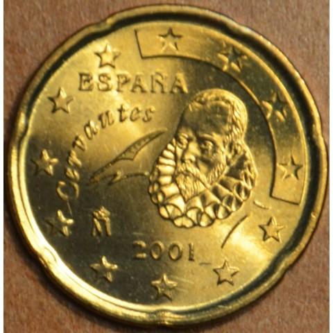 20 cent Španielsko 2001 (UNC)