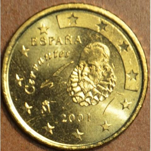 50 cent Španielsko 2001 (UNC)