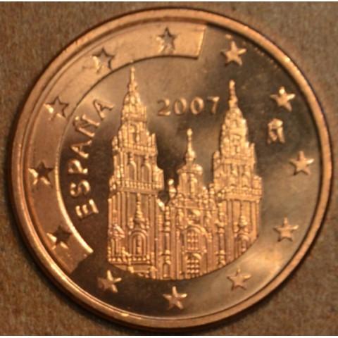 1 cent Španielsko 2007 (UNC)