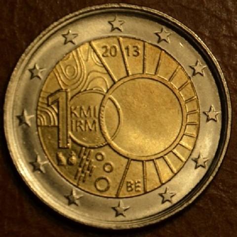 2 Euro Belgicko 2013 - 100. výročie královskej meteorologickej inštitúcie (UNC)