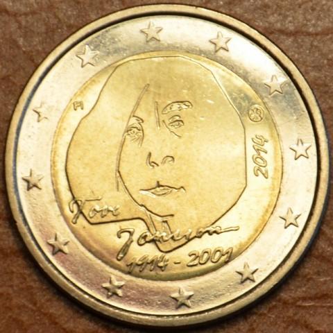 2 Euro Fínsko 2014 - Tove Jansson (UNC)
