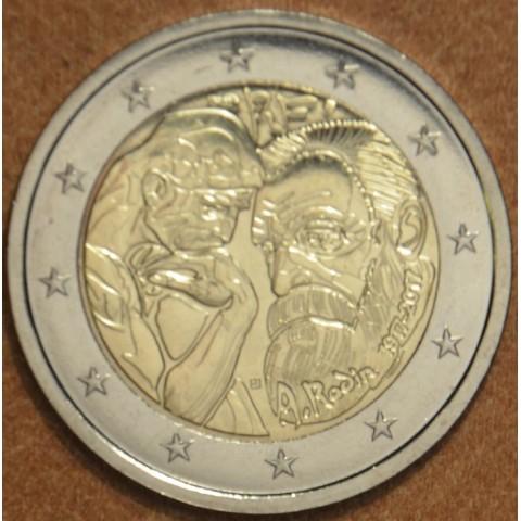 2 Euro Francúzsko 2017 - Auguste Rodin (UNC)