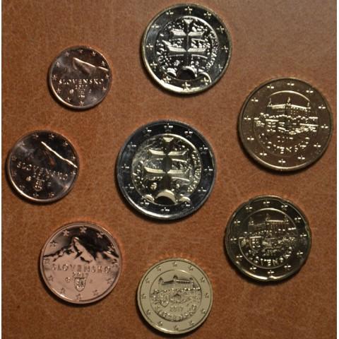 Sada Slovenských mincí 2017 (UNC)