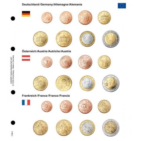 Sady Nemecko, Rakúsko, Francúzsko do Lindner albumu