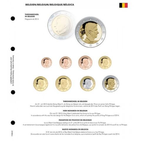 Nový kráľ Belgicka 2014 do Lindner albumu