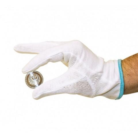 Lindner biele bavlnené rukavice