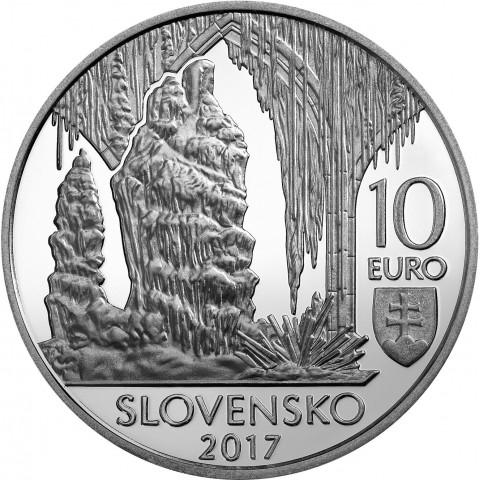10 Euro Slovensko 2017 - Jaskyne Slovenského krasu (BU)