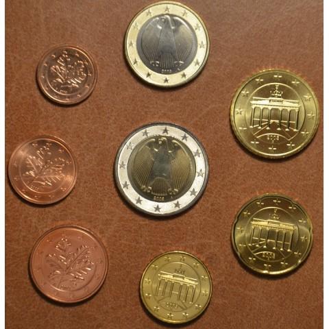 """Sada 8 nemeckých mincí 2003 """"D"""" (UNC)"""