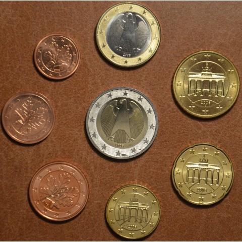 """Sada 8 nemeckých mincí 2006 """"A"""" (UNC)"""