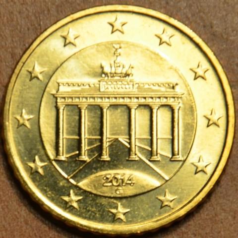 """50 cent Nemecko """"G"""" 2014 (UNC)"""
