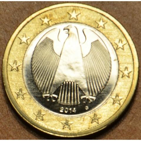 "1 Euro Nemecko ""G"" 2014 (UNC)"