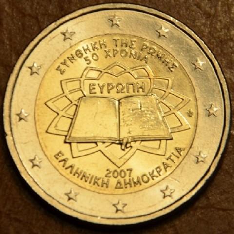 2 Euro Grécko 2007 - 50 rokov Rímskej zmluvy (UNC)
