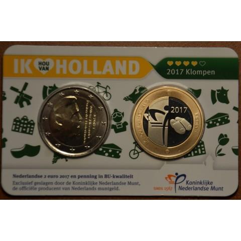 2 Euro Holandsko 2017 - Holland coin fair (BU)