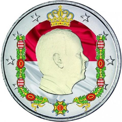 2 Euro Monaco 2014 (farebná UNC)