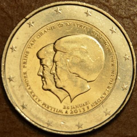 2 Euro Holandsko 2013 - Dvojportrét (UNC)