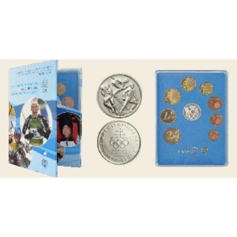 """Súbor Slovenských mincí 2010 """"Vancouver"""" (Proof)"""