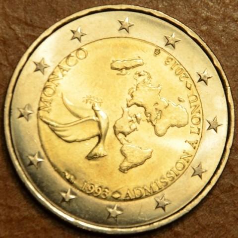 2 Euro Monaco 2013 - 20. výročie členstva v OSN (UNC)