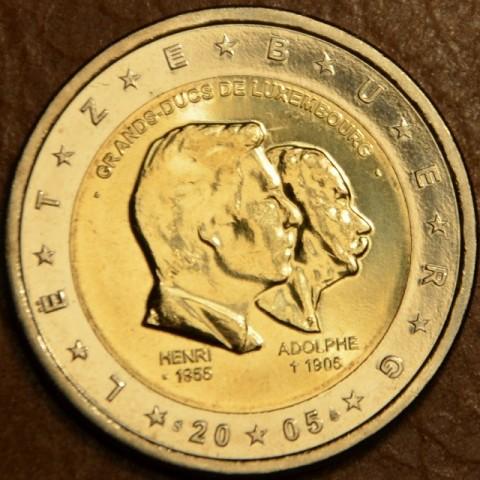 2 Euro Luxemburgsko 2005 - 50. výročie narodenia veľkovojvodu Henriho... (UNC)