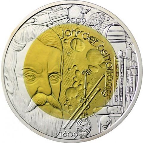 25 Euro Rakúsko 2009 - Astronómia (Niob)