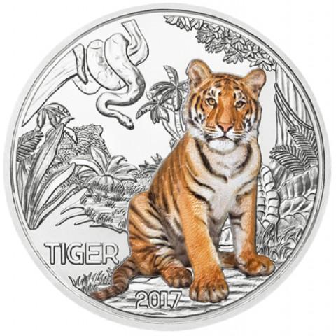 3 Euro Rakúsko 2017 - Tiger (UNC)