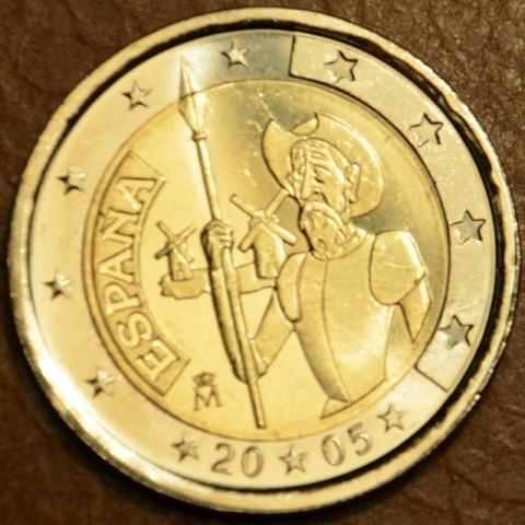 2 Euro Španielsko 2005 - 400 rokov od vydania románu Don Quijote (UNC)