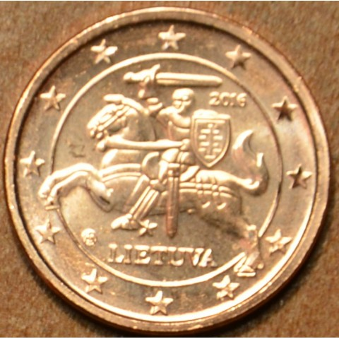 1 cent Litva 2015 (UNC)