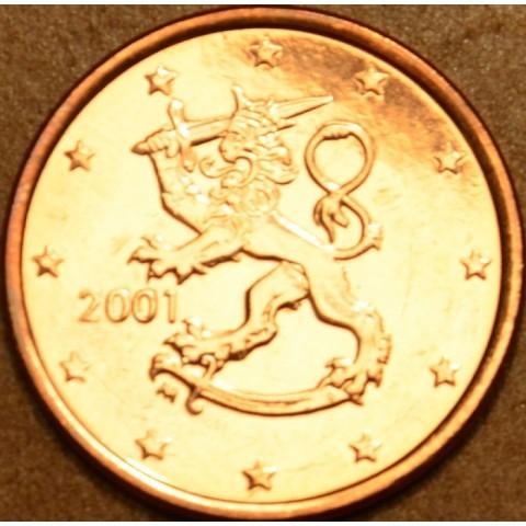 1 cent Fínsko 2001 (UNC)
