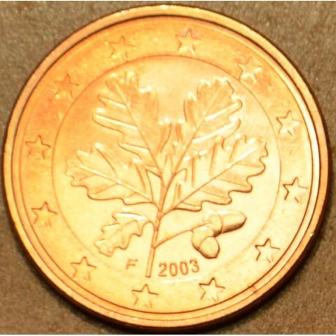 "1 cent Nemecko ""F"" 2003 (UNC)"
