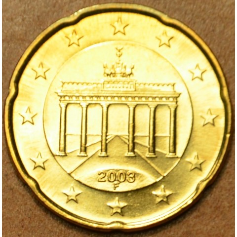 "20 cent Nemecko ""F"" 2003 (UNC)"