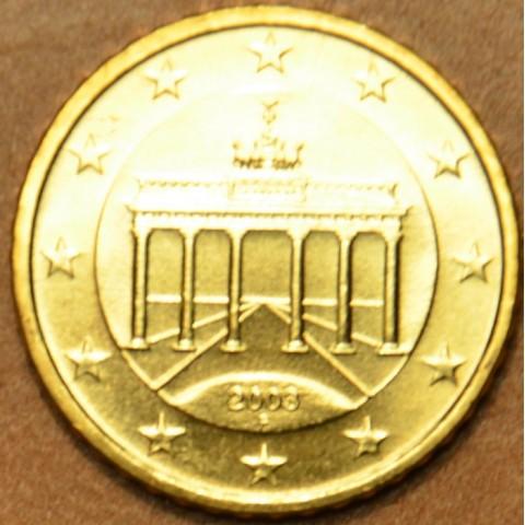 "50 cent Nemecko ""F"" 2003 (UNC)"