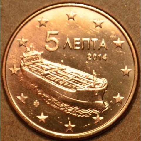 5 cent Grécko 2014 (UNC)