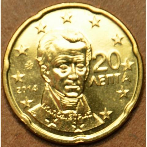 20 cent Grécko 2014 (UNC)