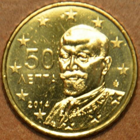50 cent Grécko 2014 (UNC)