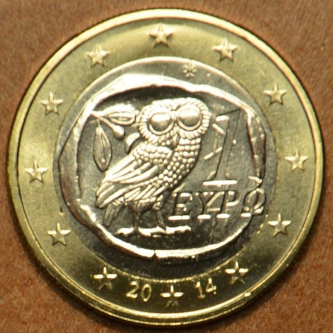 1 Euro Grécko 2014 (UNC)