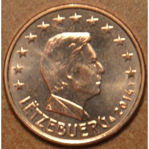 2 cent Luxembursko 2014 (UNC)