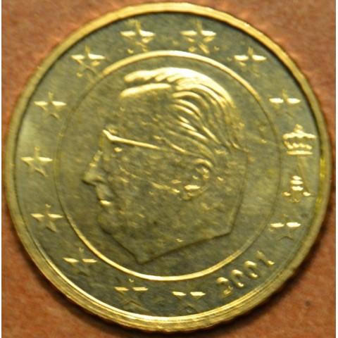 50 cent Belgicko 2001 (UNC)