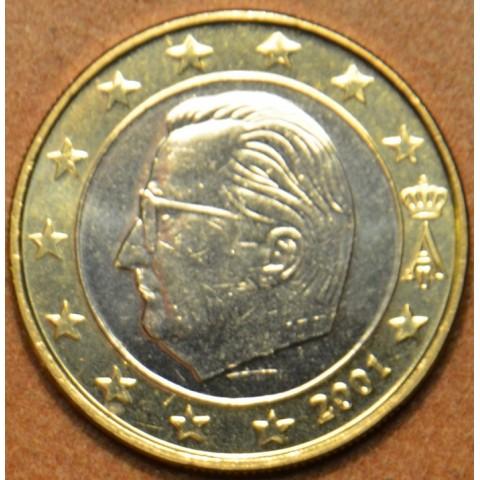 1 Euro Belgicko 2001 (UNC)