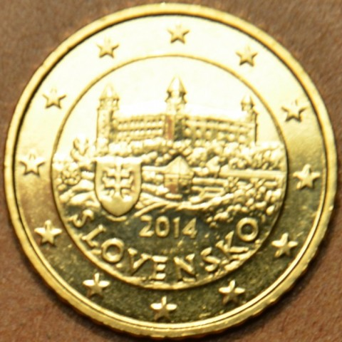 50 cent Slovensko 2014 (UNC)