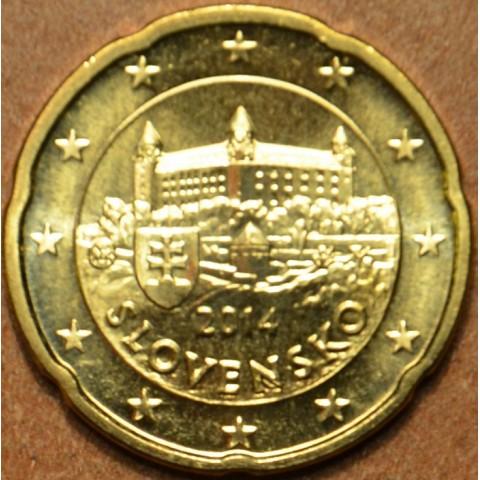 20 cent Slovensko 2014 (UNC)