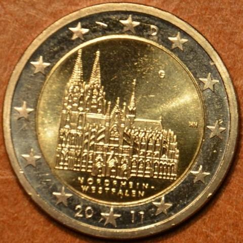 """2 Euro Nemecko """"G"""" 2011 - Severné Porýnie Vestfálsko: Dóm v Kolíne (UNC)"""
