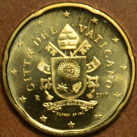 20 cent Vatikán 2017 (BU)