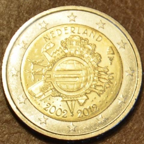 2 Euro Holandsko 2012 - 10. výročia vzniku Eura (UNC)