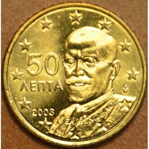 50 cent Grécko 2003 (UNC)